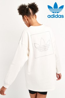 adidas Originals Fakten Long Line Crew Top
