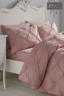 Signature Elissa Cotton Textured Duvet Cover and Pillowcase Set