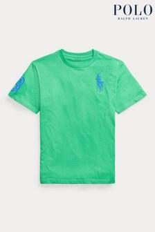 Ralph Lauren Green Big Pony T-Shirt