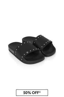 Zadig & Voltaire Girls Black Sandals