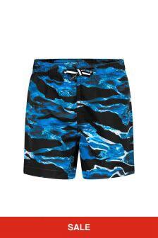 Molo Boys Blue Swim Shorts