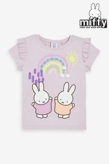 Lilac Miffy Rainbow T-Shirt (3mths-7yrs)