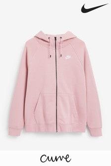 Nike Curve Sportswear Essential Zip Through Hoodie