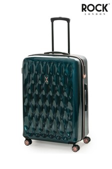 Rock Luggage Diamond Large Hard Shell Suitcase