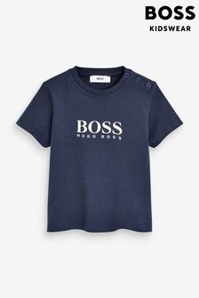 BOSS Baby Navy Logo TShirt
