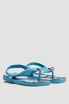 Havaianas Baby Boys Blue Mickey Mouse Flip Flops