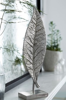 Silver Leaf Sculpture