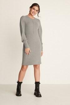 Grey Cosy Dress