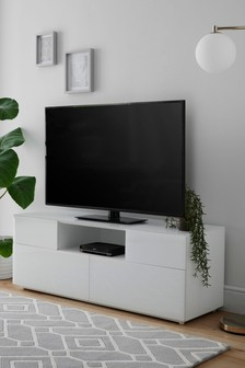 Sloane White TV Unit