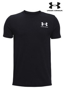 Under Armour Boys Sportstyle Left Chest Logo T-Shirt