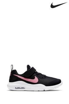 Nike Black/Pink Oketo Junior Trainers