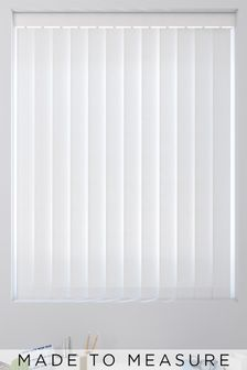 Wave Texture White Made To Measure Vertical Blind