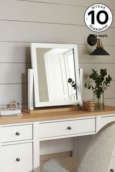 Malvern Chalk Dressing Table Mirror