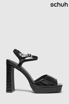 Schuh Black Sally Platform Shoes