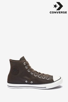 Converse Chocolate Brown High Top Trainers