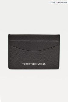 Tommy Hilfiger Black Business Mini Card Holder