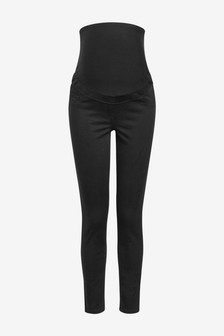 Black Maternity Authentic Skinny Jeans