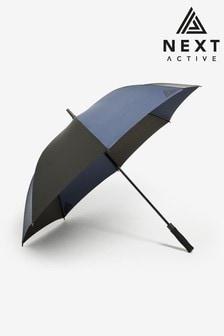 Black/Navy Automatic Open/Close Golfing Umbrella
