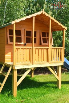Stork With Platform Slide Playhouse Assembled By Shire