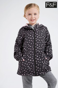 F&F Grey Animal Print Jacket