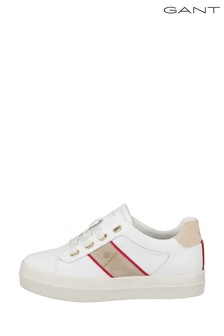 GANT White Avona Sneakers
