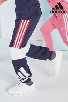 adidas Navy Block Joggers