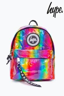 Hype. Multi Rainbow Holo Mini Backpack