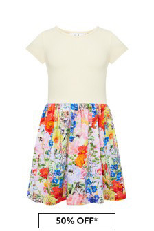 Molo Multicoloured Cotton Dress