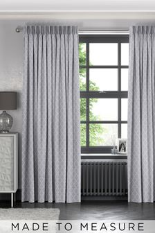 Helio Dove Grey Made To Measure Curtains