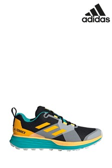 adidas Blue/Yellow Terrex Two Trainers