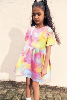 Tie Dye Jersey Dress (3-16yrs)