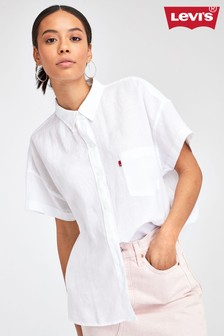 Levi's® Short Sleeve Cotton Shirt