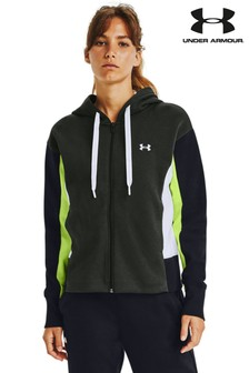 Under Armour Rival Full Zip Embroidery Hoodie
