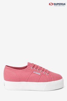 Superga® Canvas 2790 Flatform Trainers