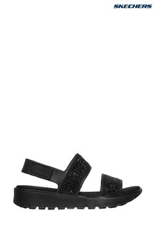 Skechers® Black Footsteps Glam Party Sandals