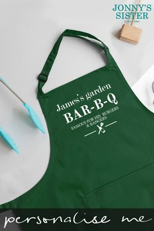 Personalised BBQ Apron by Jonnys Sister