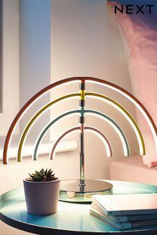 Multi Rainbow LED Table Lamp