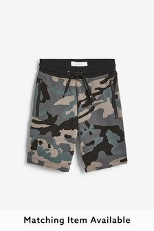 Camouflage Shorts Mineral Print (3-16yrs)