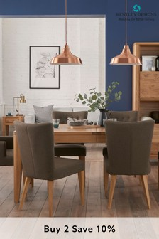 High Park 6 Seater Extending Dining Table by Bentley Designs