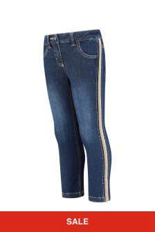 Aigner Blue Cotton Jeans