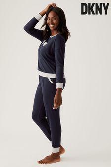 DKNY Signature Top And Joggers Pyjama Set