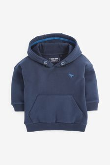 Navy Hoody Soft Touch Jersey (3mths-7yrs)