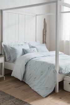 Sophie Allport Coastal Birds Cotton Duvet Cover and Pillowcase Set