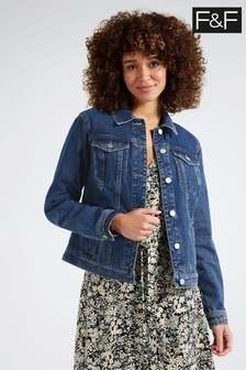 F&F Indigo Mid Denim Jacket