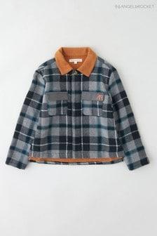 Angel & Rocket Grey Checked Padded Shirt