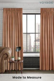 Jasper Rust Orange Made To Measure Curtains