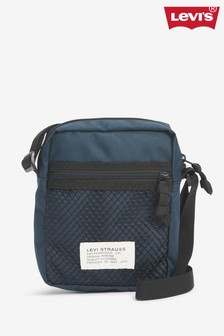 Levi's® Navy Mesh Cross Body Bag