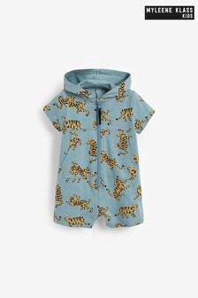 Myleene Klass Baby Blue Tiger Romper