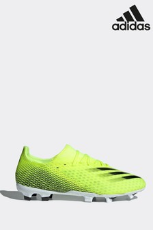 adidas Yellow X P3 Firm Ground Football Boots