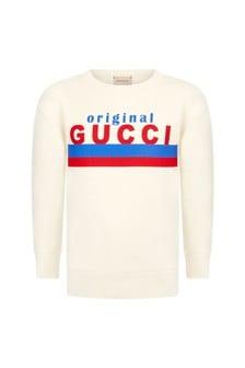 GUCCI Kids Boys Cotton Sweater